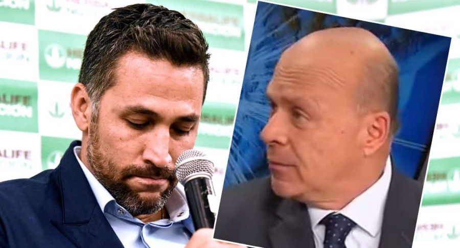 Mario Alberto Yepes y Carlos Antonio Vélez