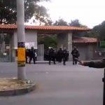 Esmad en la Universidad de Antioquia