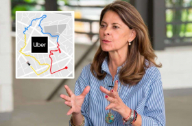 Uber y Marta Lucía Ramírez