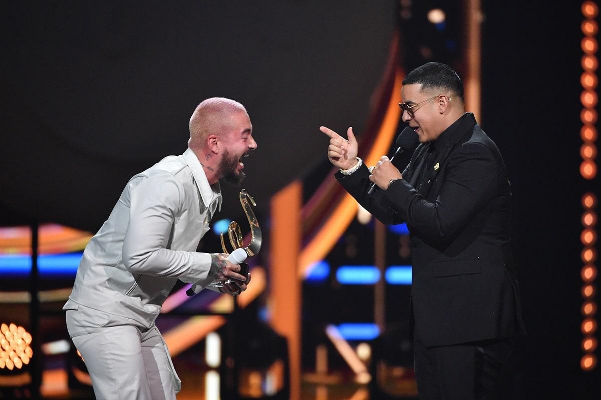 J Balvin y Daddy Yankee