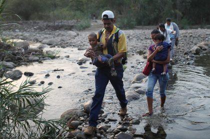 Travesía de venezolanos en Colombia