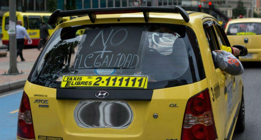 Taxi paro