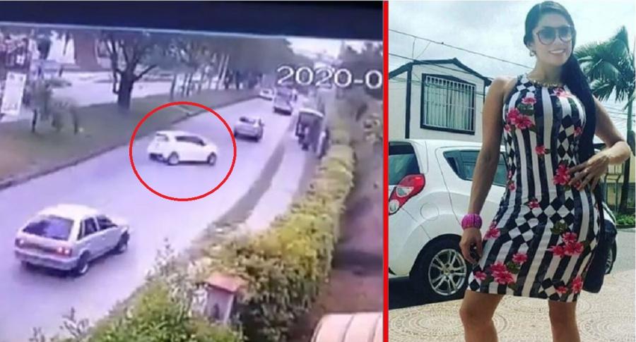Accidente de tránsito en el que conducía mujer embriagada