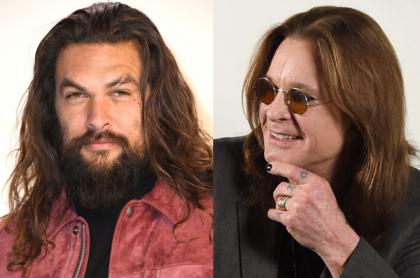 Jason Momoa y Ozzy Osbourne