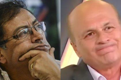 Gustavo Petro y Carlos Antonio Vélez