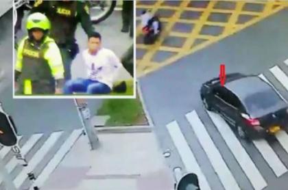 Carro robado en Medellín