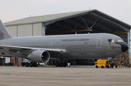 Avión KC-767 Júpiter de la Fuerza Aérea