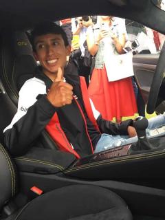 [Fotos] Este es el carrazo (único en Colombia) en el que se montó Egan Bernal