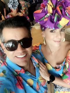 Carlos Calero y Caronila Cruz