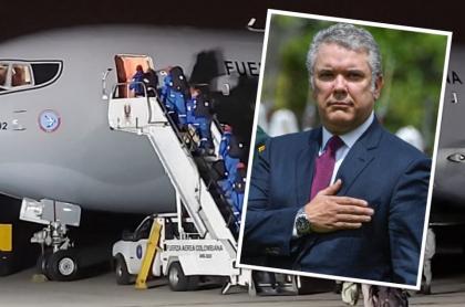 Iván Duque y el KC-767 Júpiter