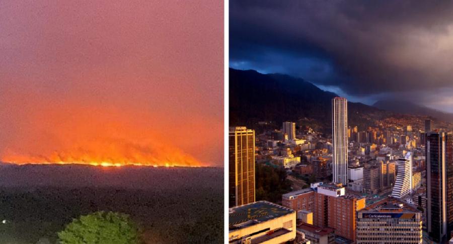 Serranía de La Macarena en llamas / Imagen de referencia de Bogotá