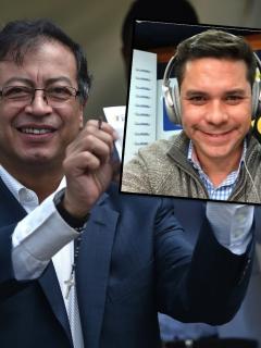 """""""No recibo dinero en bolsas ni fui guerrillero"""": Vélez y Petro siguen agarrados en Twitter"""