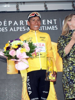 ¡Grande, campeón! Nairo Quintana conquista el Tour de los Alpes Marítimos en Francia