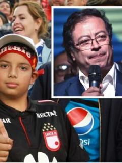 La promesa de Petro a todos los hinchas que les gusta ver fútbol colombiano gratis