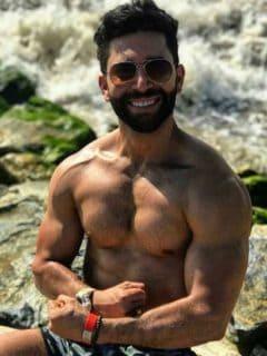 [Fotos] Así de flaco se veía Edwin Garrido en su juventud, antes de hacer ejercicio