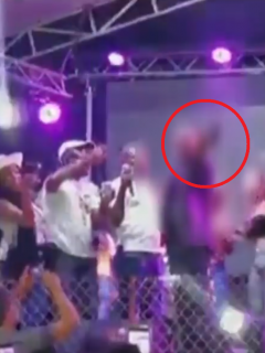 [Video] ¿Quién es el artista de música popular que hizo tiros junto a narco en concierto?