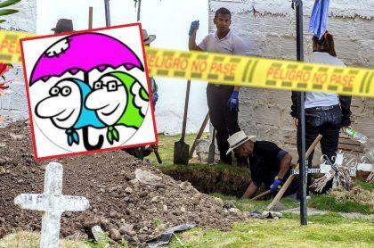 Tola y Maruja / Exhumación  de cuerpos en Dabeiba