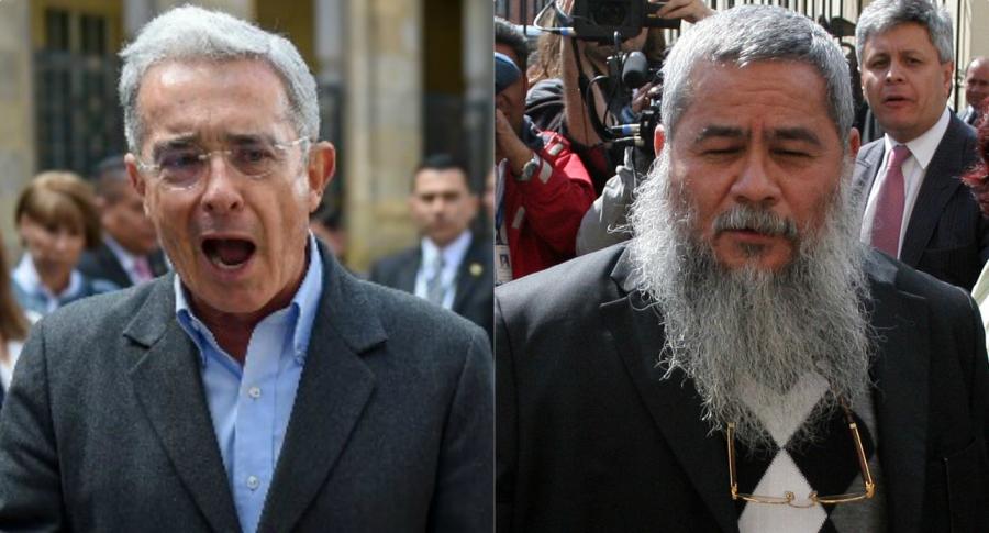 Álvaro Uribe y 'Francisco Galán'