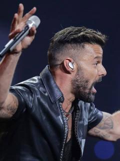 [Video] Ricky Martin le robó beso en la boca a presentador de Viña del Mar