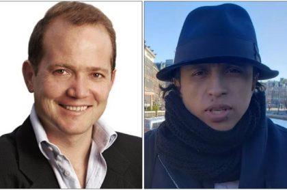 Daniel Samper ospina y Jonatan Tamayo ('Manguito')