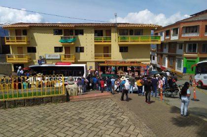 Desplazados en Ituango