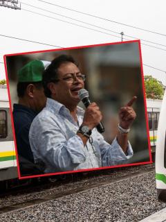 Gustavo Petro y metro de  Medellín