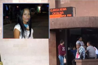 Mujer agredida en Barranquilla