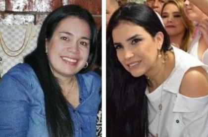 Vanessa y Aída Merlano Rebolledo