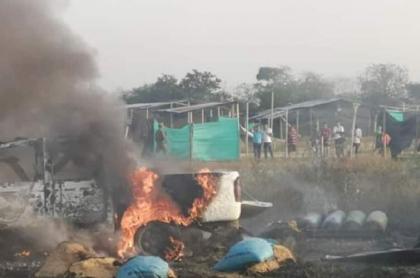 Explosión en Saravena