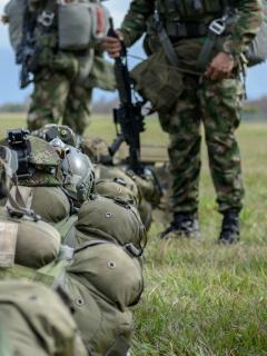 Soldados del Ejército Nacional de Colombia
