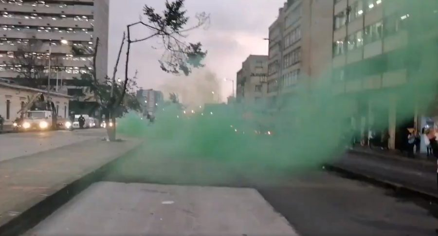 Gas verde