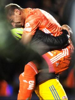 [Video] Arquero marca en el minuto 94 golazo de clasificación en Concachampions