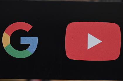 Logos de Google y YouTube