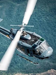 Helicóptero de la FAC