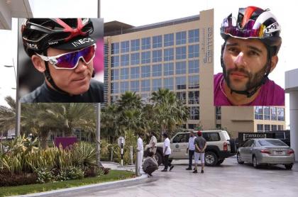 Hotel en cuarentena en Abu Dabi, Emiratos Árabes