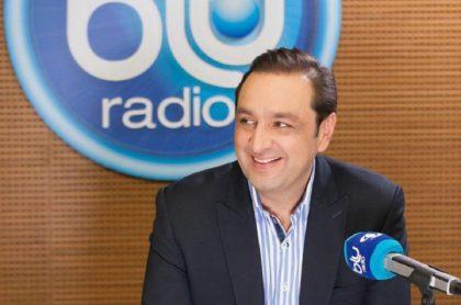 Jorge Alfredo Vargas, periodista de Blu Radio.
