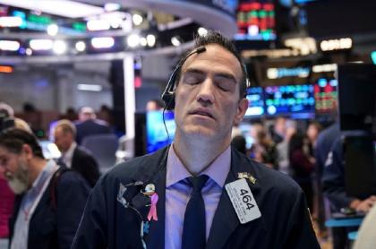 Trabajadores de Wall Street