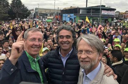 Antonio Navarro Wolff, Sergio Fajardo y Antanas Mockus