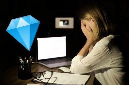 Diamante en redes sociales.