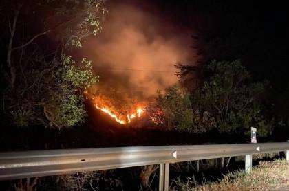 Incendio en Quetame, Cundinamarca