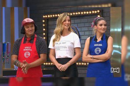 Hassam, Claudia Bahamón y Mariana Gómez
