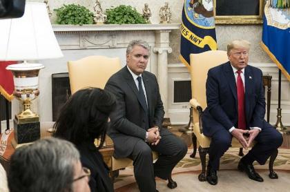 Encuentro Duque-Trump