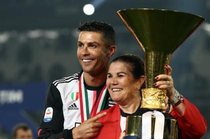 Cristiano Ronaldo y su madre, Dolores Aveiro