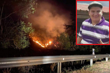 William Giovany Carreño, joven quemado y muerto en incendio de Quetame.