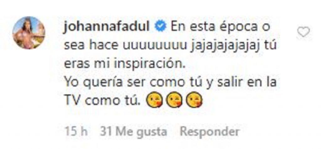 Pantallazo Instagram Carla Giraldo.