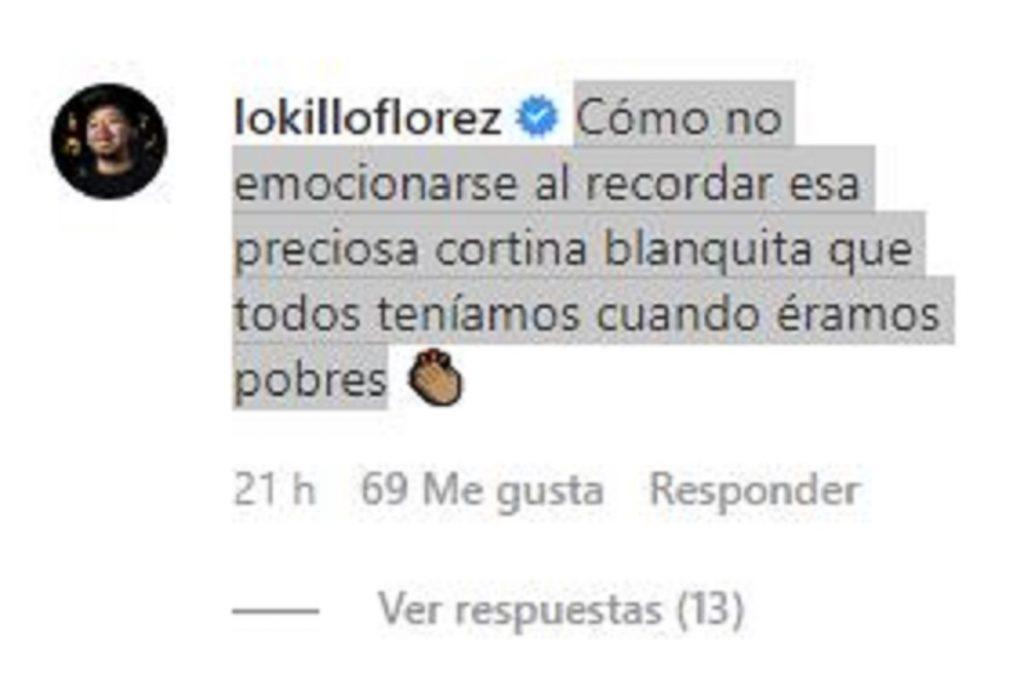 Pantallazo Instagram, Carla Giraldo.
