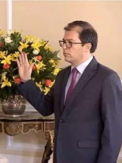 Iván Duque y el fiscal Francisco Barbosa