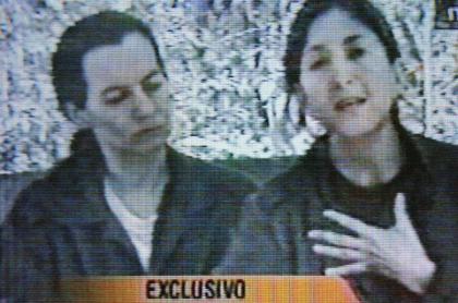 Íngrid Betancourt y Clara Rojas