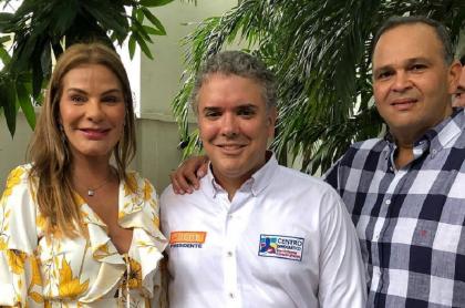 María Mónica Urbina, Iván Duque y el Ñeñe Hernández