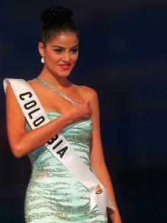Catalina Acosta, exreina.